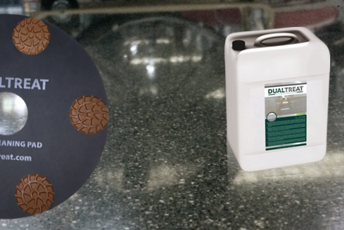 Betonboden Reinigen dualtreat betonversiegelung wartung reinigung böden