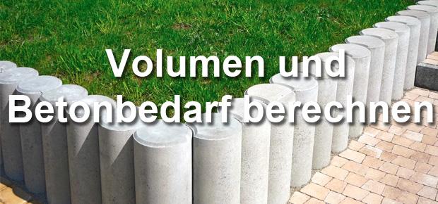Kubikmeter und benötigte Menge Beton berechnen: Wieviel kg Fertigbeton / Trockenmischung benötigt man für 1 m³ Volumen? Hier bekommen Sie Antworten und Tipps fürs Berechnen und Ermitteln.